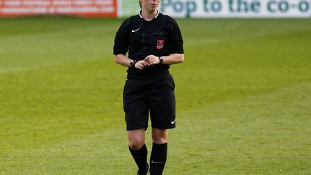 Abi Marriott will be assistant ref at the Women's FA Cup Final