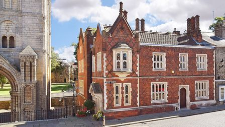 Norman Tower House in Bury St Edmunds which is up for sale for �1.45m. Picture: BEDFORDS