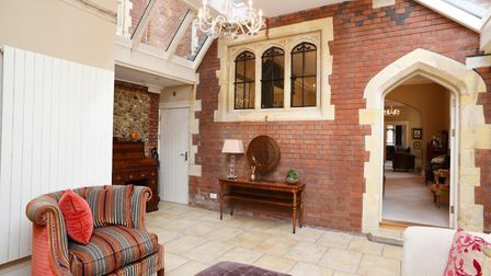 The inside of the Norman Tower House in Bury St Edmunds. Picture: BEDFORDS