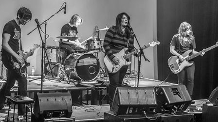 Horse Party, playing their last gig at The Hunter Club, Bury St Edmunds, April 29. Photo: Jeff Higgo