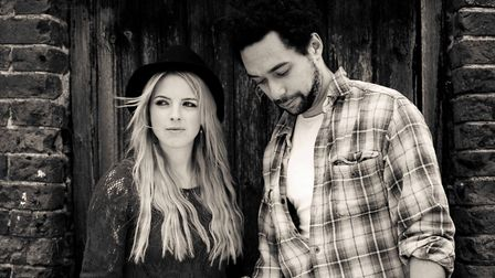 The Shires, aka Chrissie Rhodes and Ben Earle, play the Ipswich Regent May 1. Photo: Contributed
