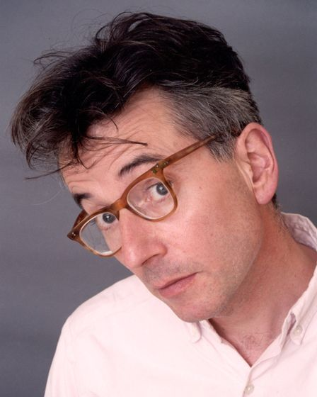 Poet John Hegley headlines International Workers Day at Firstsite, Colchester, May 1. Photo: Contrib