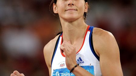 File photo dated 16-08-2008 of Great Britain's Kelly Sotherton. PRESS ASSOCIATION Photo. Issue date: