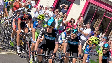 The Tour of Britain will be be returning to Woobdridge, pictured here during a previous visit. Pictu