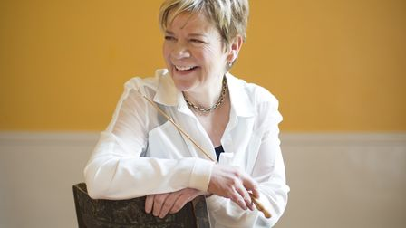 International conductor Marin Alsop who will be introducing audeinces to Britten's Young Person's Gu