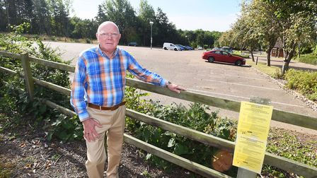 Moreton Hall councillor Frank Warby is angry about the prospect of a McDonalds Drive on the estate.