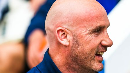 U's boss John McGreal pictured during today's 1-1 draw against Doncaster. Picture: STEVE WALLER