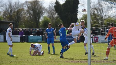Lowestoft clear their lines