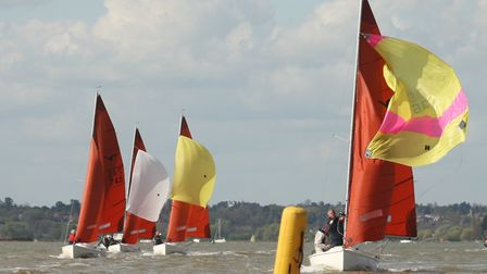 Waldringfield Sailing Club hosted their first open event of the year at Easter