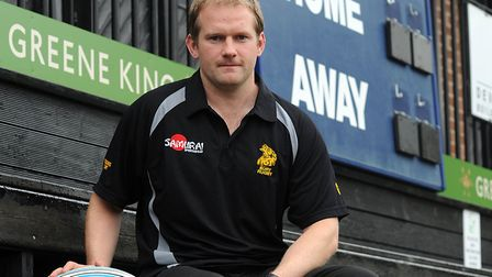 Gavin Hogg, Bury's Director of Rugby. This weekend will be his last home match before his summer mov
