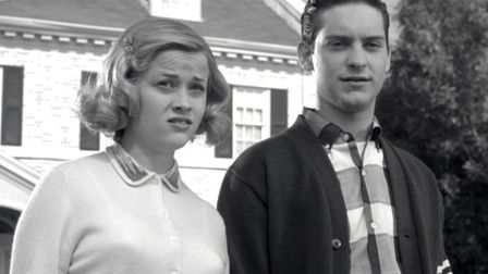 Tobey Maguire and Reese Witherspoon finds themselves trapped in the 'nice' black and white world of