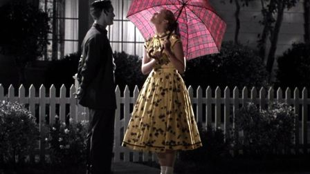 The black and white world of Pleasantville gradually slips into colour as sex rears its head. Pictur