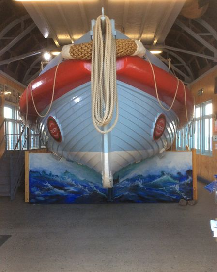 The Alfred Corry lifeboat at the museum in Southwold. Picture: CONTRIBUTED