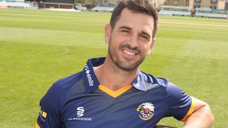 Tough day in London for Essex skipper Ryan ten Doeschate and his team