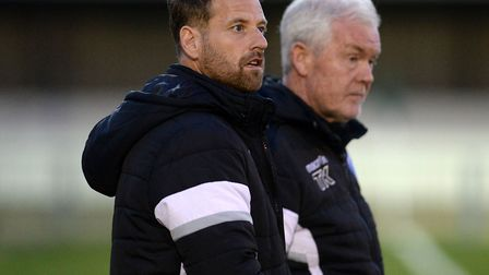 Leiston's management team of Glenn Driver and Tony Kinsella, saw their club just miss out on the pla