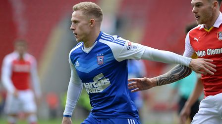 Danny Rowe caught the eye on his full debut at Rotherham. Photo: PAGEPIX