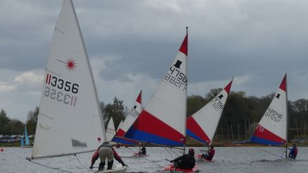 Action from last year's Antigua Sailing Day Regatta