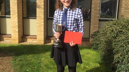 Beth Maskell Brett Valley, Suffolk and Eastern Area Junior Member of the Year.