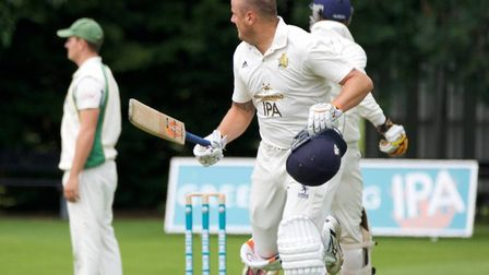 Michael Comber, who made 75 not out for Frinton in their six-wicket defeat at Cambridge Granta on Su