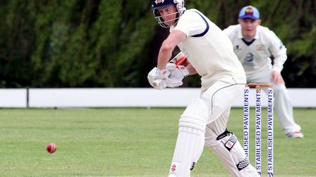 Martyn Cull, who impressed with the bat in Copdock & Old Ipswichian's defeat at Great Witchingham.