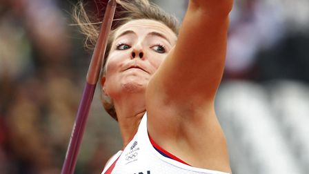 Goldie Sayers retured from athletics on Wednesday