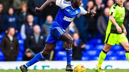 Toumani Diagouraga made 10 starts and two substitute appearances for Ipswich Town during his loan sp