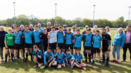 The junior sections at Woodbridge Rugby Club have had a great season