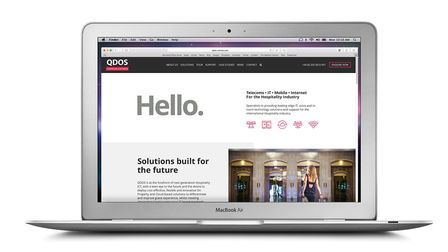 Ipswich-based QDOS has commissioned a new website fom Infotex, based at Melton, near Woodbridge