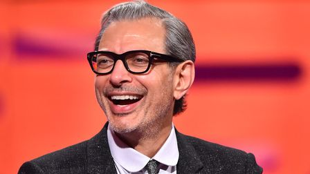 Jeff Goldblum, pictured here during a TV appearance, said his character was a saucy, sassy man of s