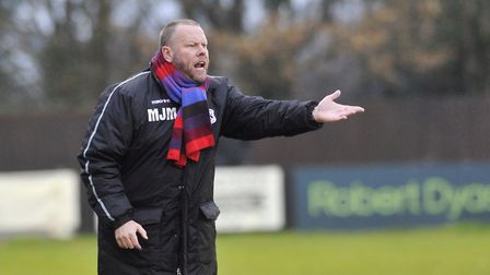 Needham Market manager Mark Morsley is standing down after Monday's Suffolk Premier Cup final with L