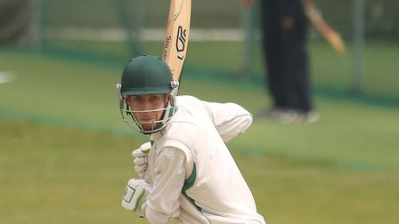 James Scott, who scored a superb 96 in Mistley's crushing victory over Woolpit on Saturday. Picture: