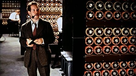 Enigma, co-starring Tom Hollander as a Bletchley Park section chief. Picture: CONTRIBUTED