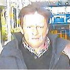 CCTV image of a man police would like to speak to in connection with a robbery in Clacton. Picture: