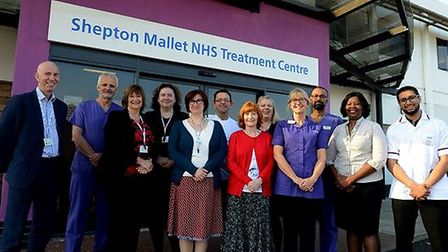 Staff at Colchester-based Care UK's Shepton Mallet NHS Treatment Centre in Somerset