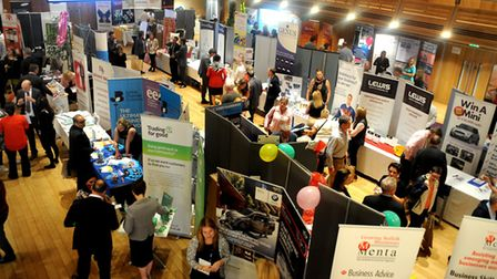 A previous Menta Trade Fair at the Apex in Bury St Edmunds. Picture: Andy Abbott