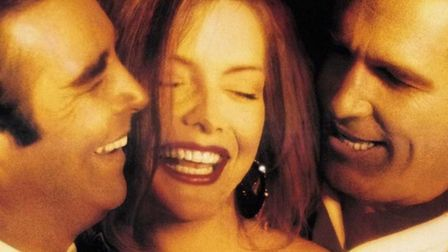 Beau Bridges, Michelle Pfeiffer and Jeff Bridges in the comedy-drama The Fabulous Baker Boys about t