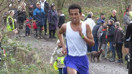 Ramadan Osman, who helped Colchester Harriers to victory in the team section at the Colchester 10K.