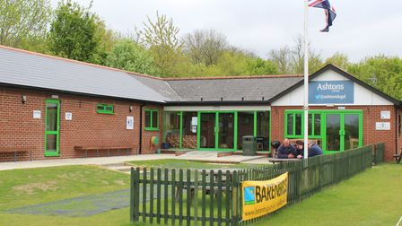 The new pavilion at Woolpit Cricket Club