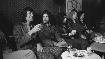Steve Winwood and Free in Amsterdam, July 1970. From left: Stevie Winwood, Andy Fraser, Paul Rodgers