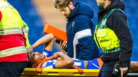Kurtis Guthrie was one of many Colchester United players to suffer a serious injury, during a match