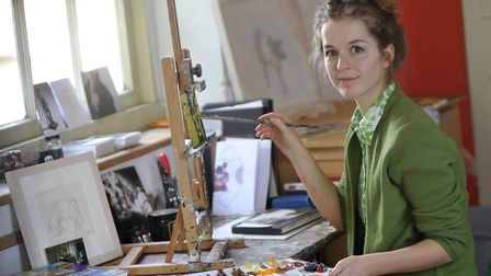 Artist Jelly Green, who is from Saxmundham but has a studio in London, has been successful in captur