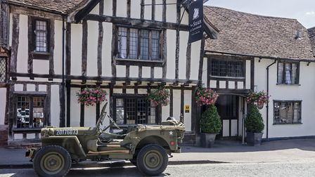 Enjoy a series of 1940s themed events in Lavenham Photo: Ian Stolerman
