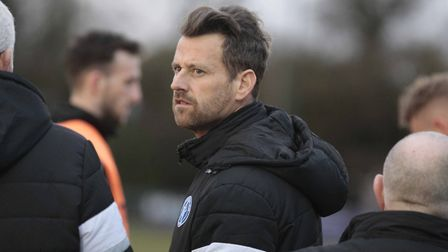 Leiston team manager Glenn Driver - a rollercoaster of a season for him and the Blues