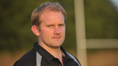 Gavin Hogg, who will take charge of his final game as Bury St Edmunds' Dirctor of Rugby, at Clifton