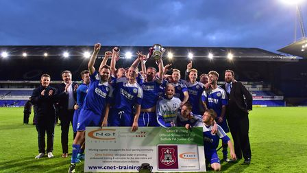 The 2016 Suffolk Junior Cup winners, AFC Hoxne, have won promotion to the SIL Senior Division.