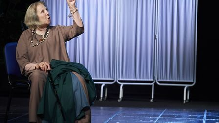 Nichola McAuliffe in Waiting For God at the New Wolsey Theatre. Picture: GERAINT LEWIS