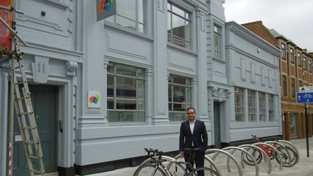 Pure Resourcing new refurbished offices, a former bank, in Princes Street, Ipswich Paul Sheldrake i