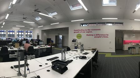 New Ipswich office in Princes Street, in the former Co-operative Bank building