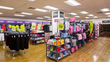 The PEP&CO store within Poundland in the Sailmakers Shopping Centre in Ipswich. The value fashion br
