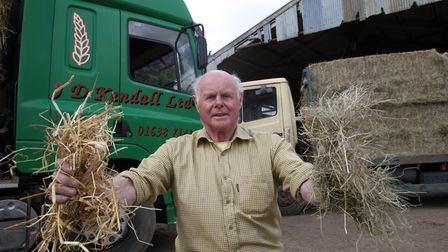 19/04/17 John Kendall is retiring from his straw and hay business in Tuddenham St Mary after 50 yea
